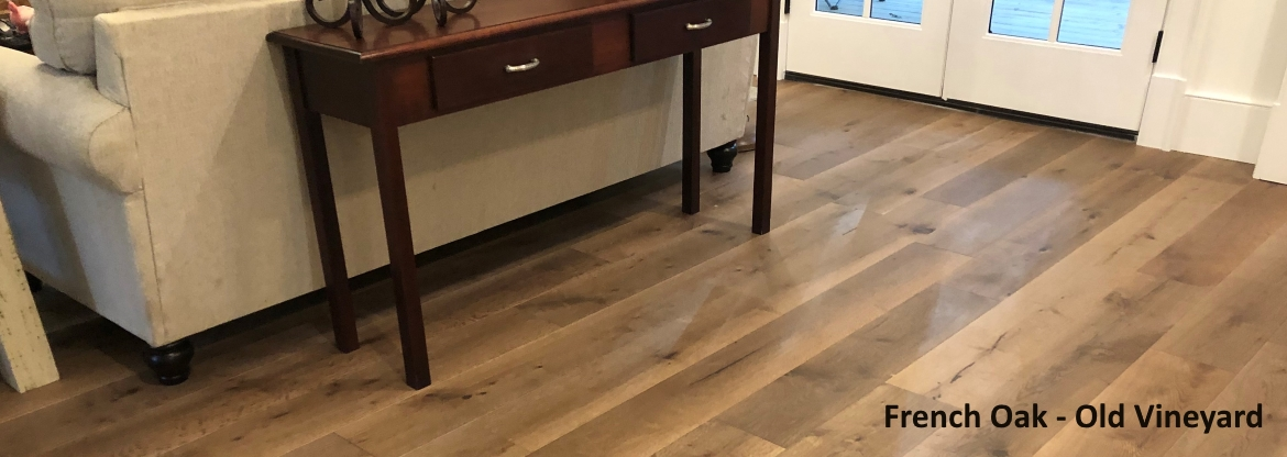 "7 1/2"" x 1/2"" French Oak Old Vineyard Prefinished Engineered Wood Flooring by Reserve Hardwood Flooring"