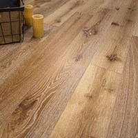 "European French Oak 7 1/2"" x 5/8"" w/4mm Wear Layer Hardwood Flooring at Wholesale Prices"