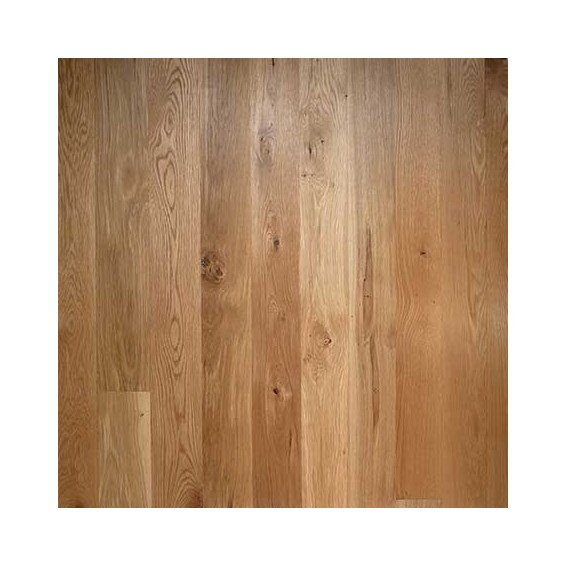 """5"""" X 3/4"""" White Oak Character 2' To 10' Unfinished Solid"""