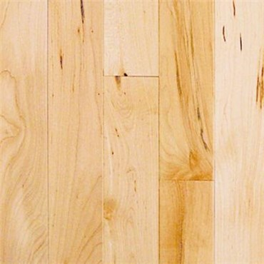 Maple Choice Natural Prefinished Solid Hardwood Flooring