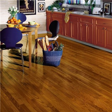 Bruce Dundee Strip 2 1 4 Oak Gunstock Wood Floors Priced Cheap At