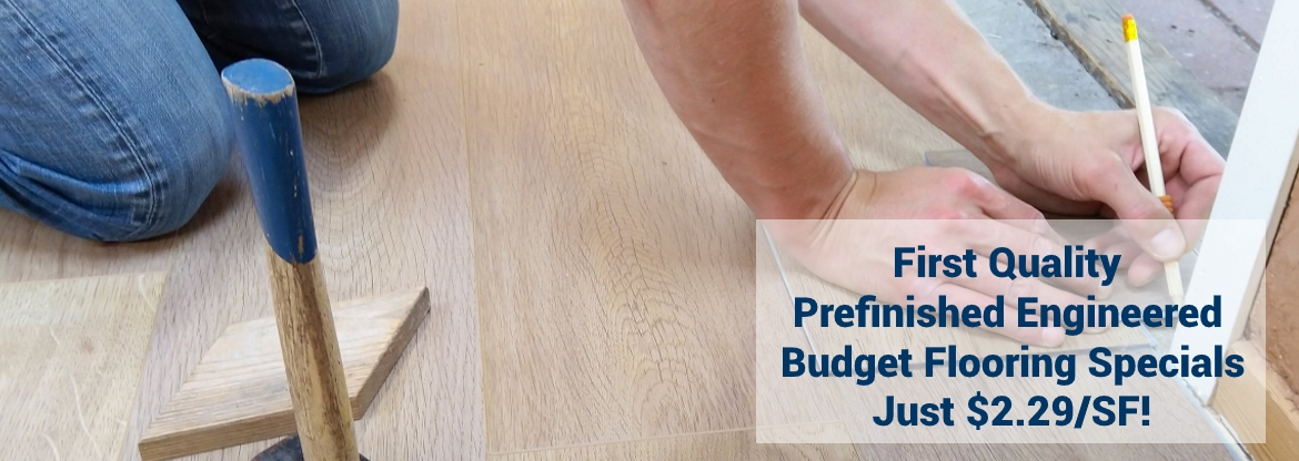 Low Cost Prefinished Engineered Wood Floors at Reserve Hardwood Flooring