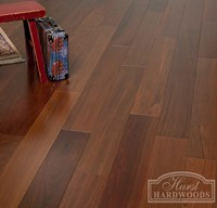 "5"" Brazilian Walnut (Ipe) Unfinished Engineered Wood Flooring at Cheap Prices"