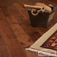 "5"" Hickory Hand Scraped Prefinished Solid Hardwood Flooring at Wholesale Prices"