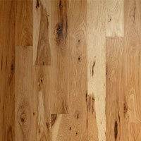 "6"" Hickory Unfinished Solid Hardwood Flooring at Wholesale Prices"