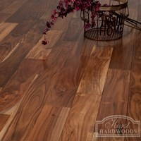 Acacia Hand Scraped Prefinished Engineered Hardwood Flooring Special at Wholesale Prices