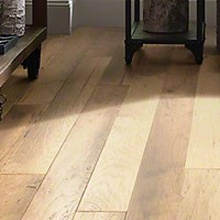Anderson Picasso Hickory Crema Engineered Flooring Reserve Hardwood Flooring