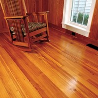 Caribbean Heart Pine Unfinished Solid Hardwood Flooring at Wholesale Prices