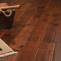 Hickory Hand Scraped Prefinished Solid Hardwood Flooring at Wholesale Prices
