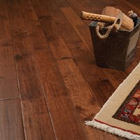 "5"" x 3/4"" Hickory Character Prefinished Solid Hardwood Flooring Specials at Wholesale Prices"