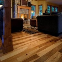 "2 1/4"" Hickory Prefinished Solid Hardwood Flooring at Wholesale Prices"