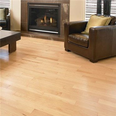 Maple Select Natural Prefinished Solid Hardwood Flooring Specials  at Wholesale Prices