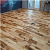 #3 Hickory Common Unfinished Wood Flooring installed by Reserve Hardwood Flooring