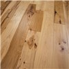 "5"" x 3/4"" Hickory Character Prefinished Solid Natural Hardwood Flooring"