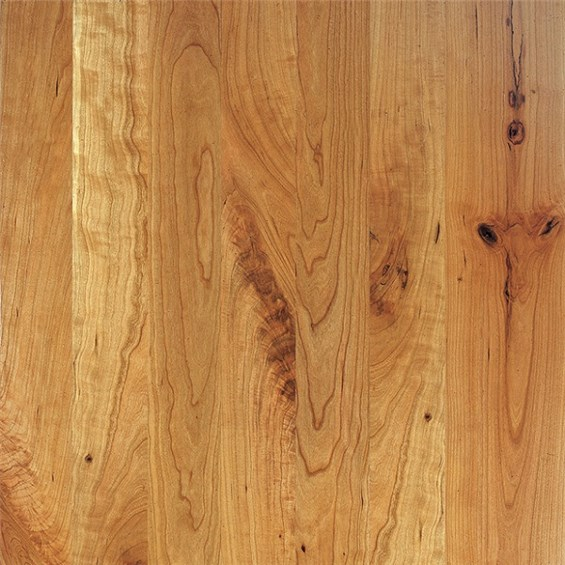 """3"""" X 5/8"""" American Cherry Character Prefinished Engineered"""