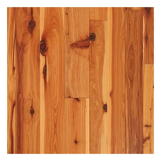 Australian Cypress Clear Grade Unfinished Solid Hardwood Flooring