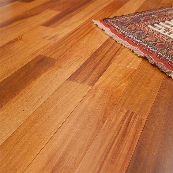 Brazilian Teak (Cumaru) Clear Grade Unfinished Solid Hardwood Flooring