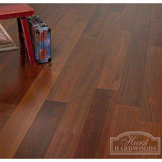 Brazilian Walnut (Ipe) Clear Grade Prefinished Solid Hardwood Flooring