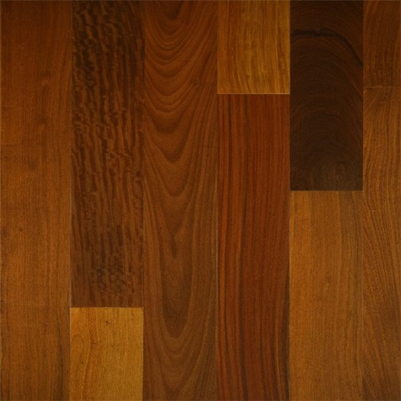 Brazilian Walnut (Ipe) Select Grade Prefinished Solid Hardwood Flooring
