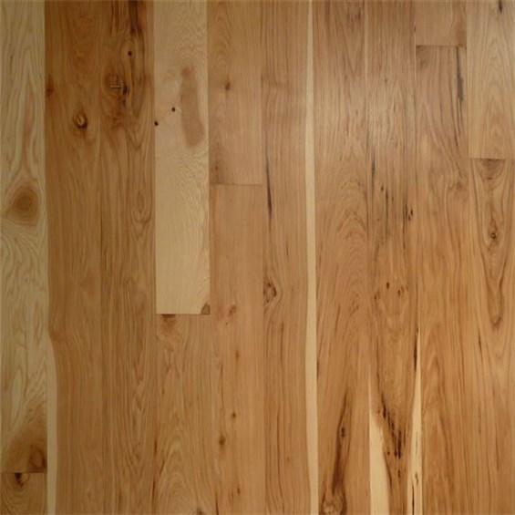 Hickory 1 Common Unfinished Solid Hardwood Flooring