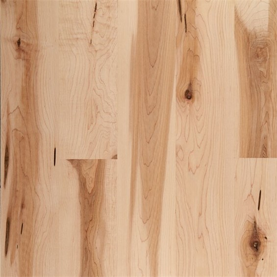 Maple Character Natural Prefinished Solid Hardwood Flooring