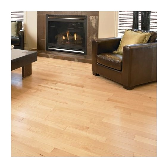 Maple Select Natural Prefinished Solid Hardwood Flooring