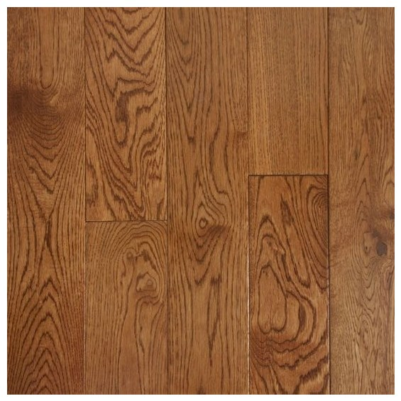 Oak Warm Walnut Prefinished Solid Hardwood Flooring