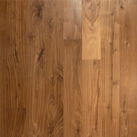 Walnut Character Unfinished Solid Hardwood Flooring