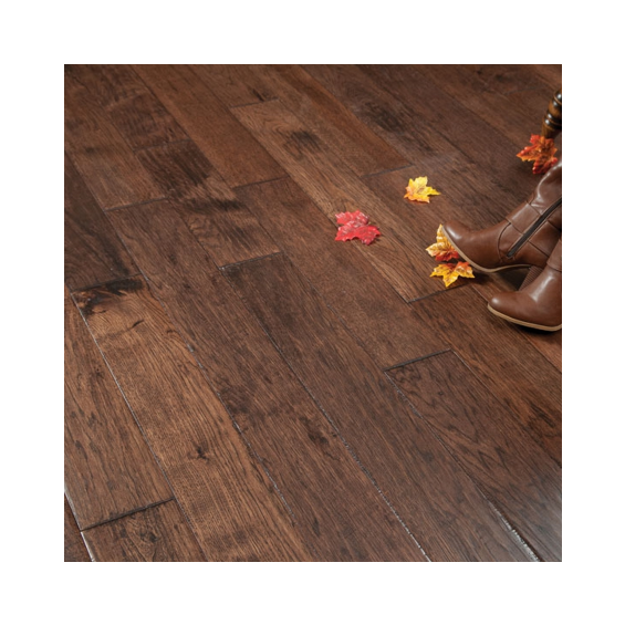 Hand Scraped Hickory Old West Prefinished Solid Wood Floors on sale at the cheapest prices by Reserve Hardwood Flooring