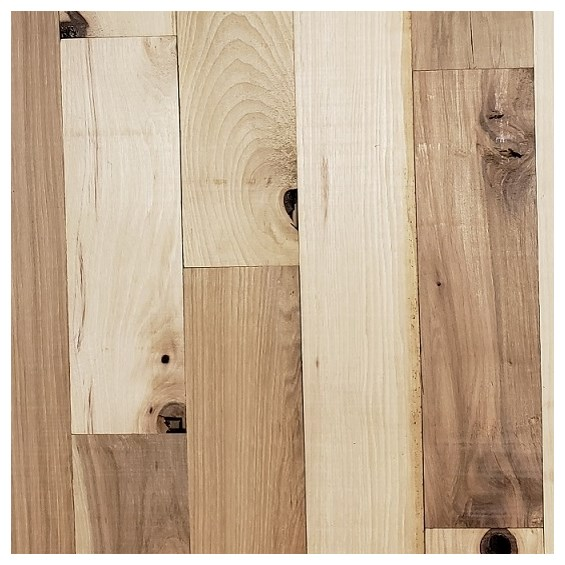 Hickory #3 Common Unfinished Solid Wood Floor at cheap prices at Reserve Hardwood Flooring