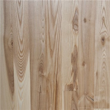Ash Character Unfinished Solid Hardwood Flooring