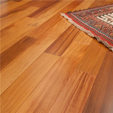 Brazilian Teak (Cumaru) Clear Grade Prefinished Solid Hardwood Flooring