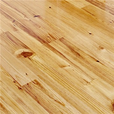 Caribbean Heart Pine Character Grade Unfinished Solid Hardwood Flooring