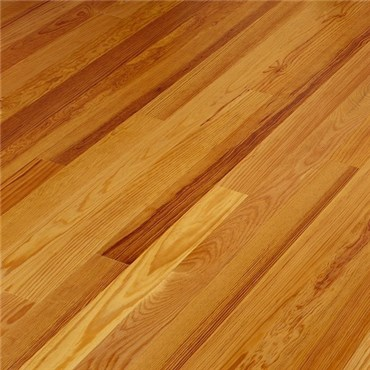 Caribbean Heart Pine Clear Grade Unfinished Solid Hardwood Flooring