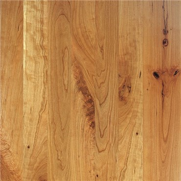 Cherry Character Unfinished Solid Hardwood Flooring