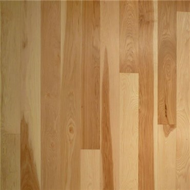 Hickory Select & Better Unfinished Solid Hardwood Flooring