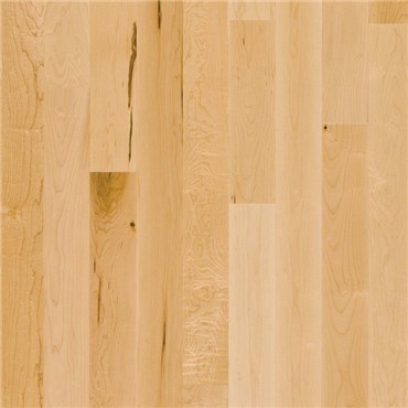 Maple 1 Common Unfinished Solid Hardwood Flooring