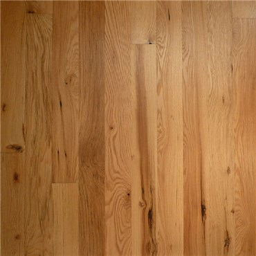 5 Quot X 3 4 Quot Red Oak Character Natural Prefinished Solid Wood