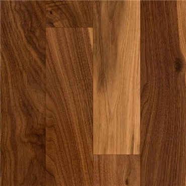 Walnut Character Natural Prefinished Solid Hardwood Flooring