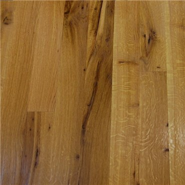 White Oak Character Rift & Quartered Unfinished Engineered Hardwood Flooring