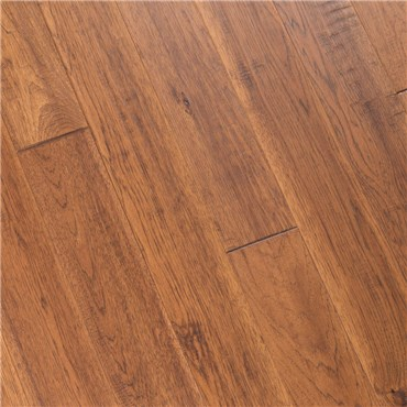 6 X 1 2 Hand Scraped Hickory Autumn Prefinished Engineered Wood
