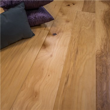 7 1 2 Quot X 1 2 Quot Hickory Hand Scraped Natural Prefinished