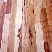Hickory 3 Common Unfinished Solid Hardwood Flooring