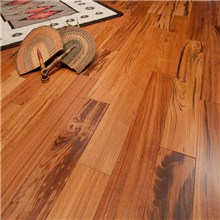 Tigerwood Premium Grade Unfinished Engineered Hardwood Flooring