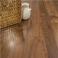 "5"" x 1/2"" Walnut Select Grade Prefinished Engineered Hardwood Flooring"