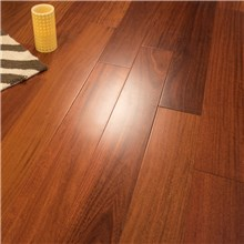 "5"" x 1/2"" Santos Mahogany Prefinished Engineered Hardwood Flooring"