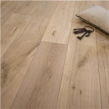 "7 1/2"" x 1/2"" European French Oak Unfinished (Beveled Edge) Hardwood Flooring"