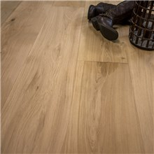 "10 1/2"" x 3/4"" European French Oak Unfinished Hardwood Flooring"