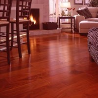 Santos Mahogany Unfinished Solid Hardwood Flooring at Wholesale Prices